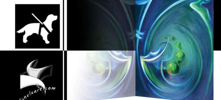 Визия за изложба живопис Отвори очи с живопис