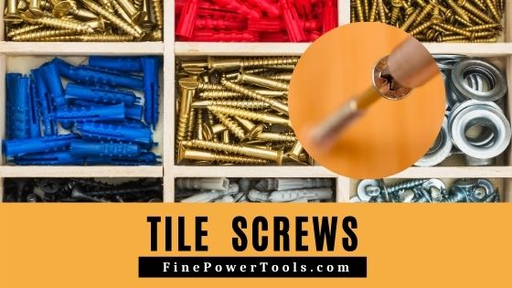 tile screws anchors how to screw