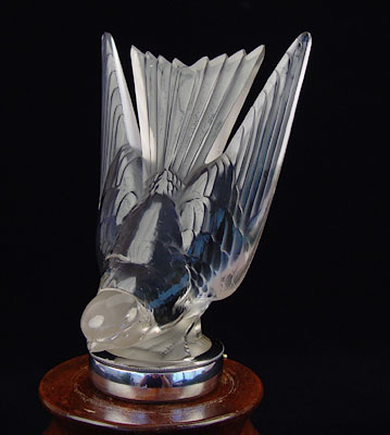 Lalique Swallow Mascot