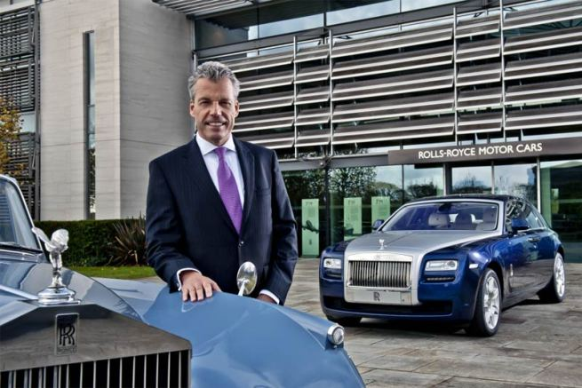 Torsten Müller-Ötvös, CEO Rolls-Royce Motor Cars