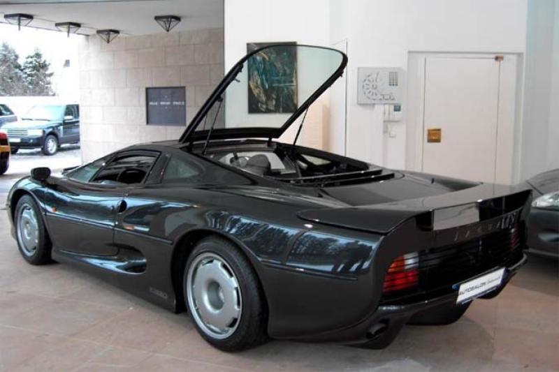 Supersportwagen Jaguar XJ 220 von Flavio Briatore zu verkaufen