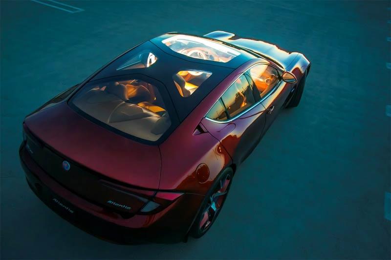 Fisker Atlantic - Fisker präsentiert neues Elektro-Luxusauto