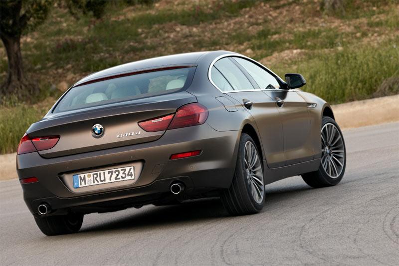 Das 6er Gran Coupé von BMW