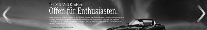 Online Konfigurator Mercedes-Benz SLS AMG Roadster