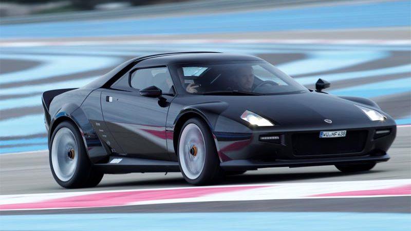 Lancia New Stratos - Neuauflage des legendären Sportwagens