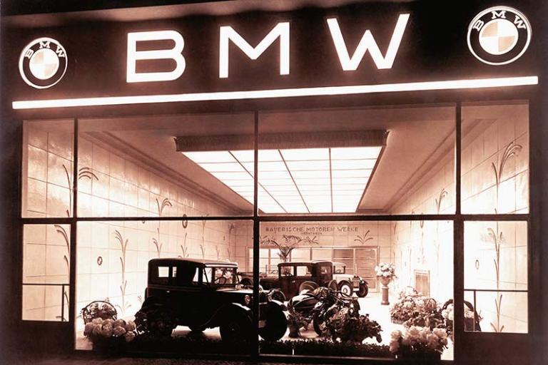 Die Geschichte des BMW Logo