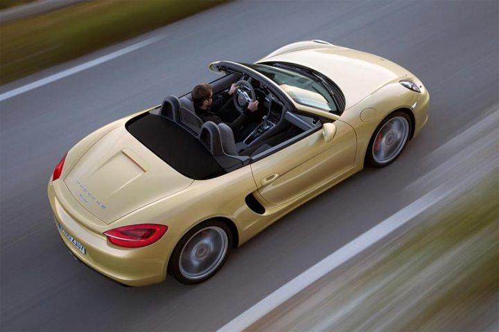 Neuer Porsche Boxter