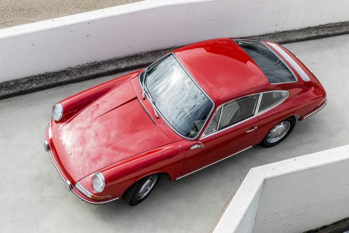 Der älteste Porsche 911 nach der Restaurierung