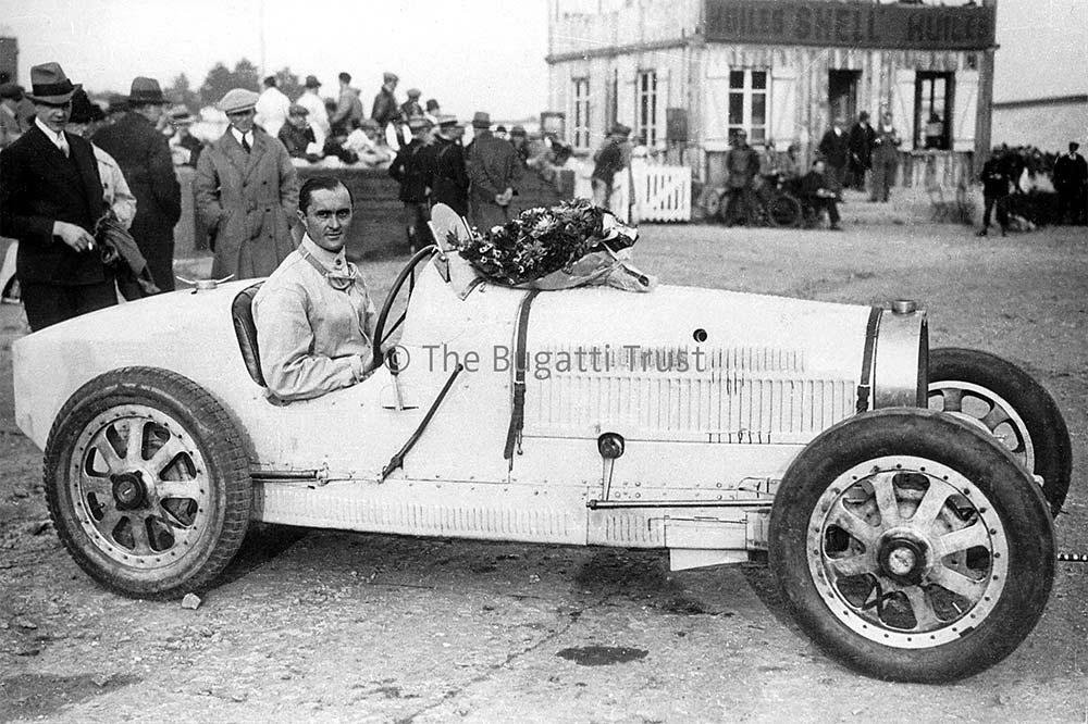 Der Rennfahrer Louis Chiron