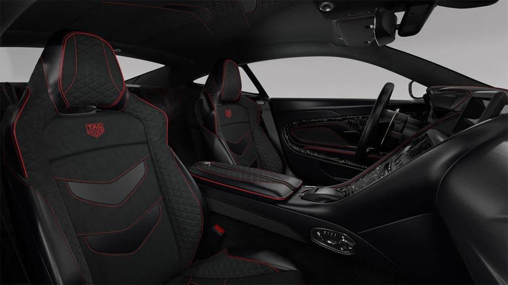 Aston Martin DBS Superleggera TAG Heuer Edition - Interieur
