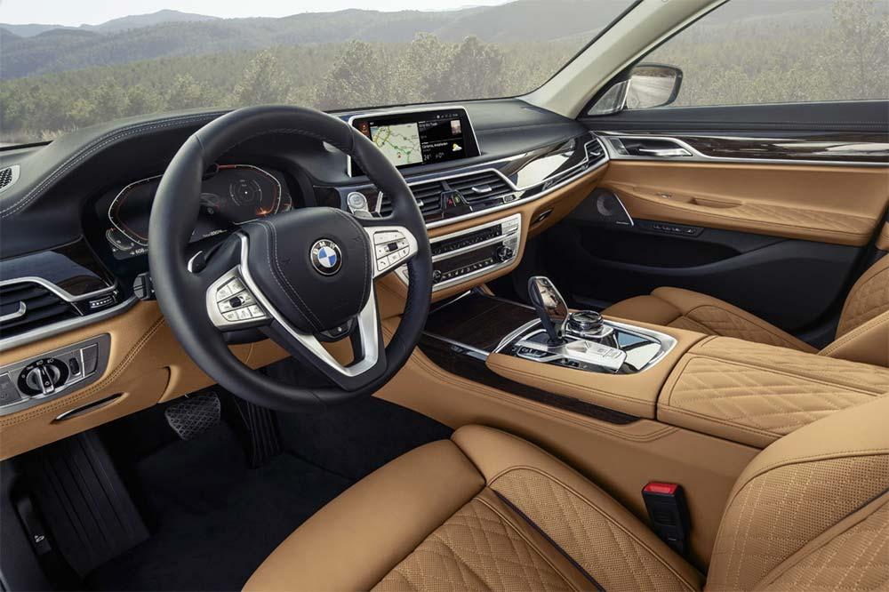 Neue BMW 7er Reihe - Interieur