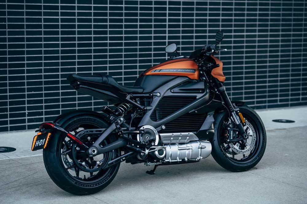 Harley Davidson LiveWire Elektromotorrad