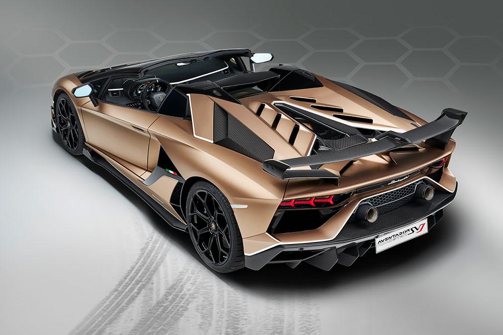 Lamborghini Aventador SVJ Roadster