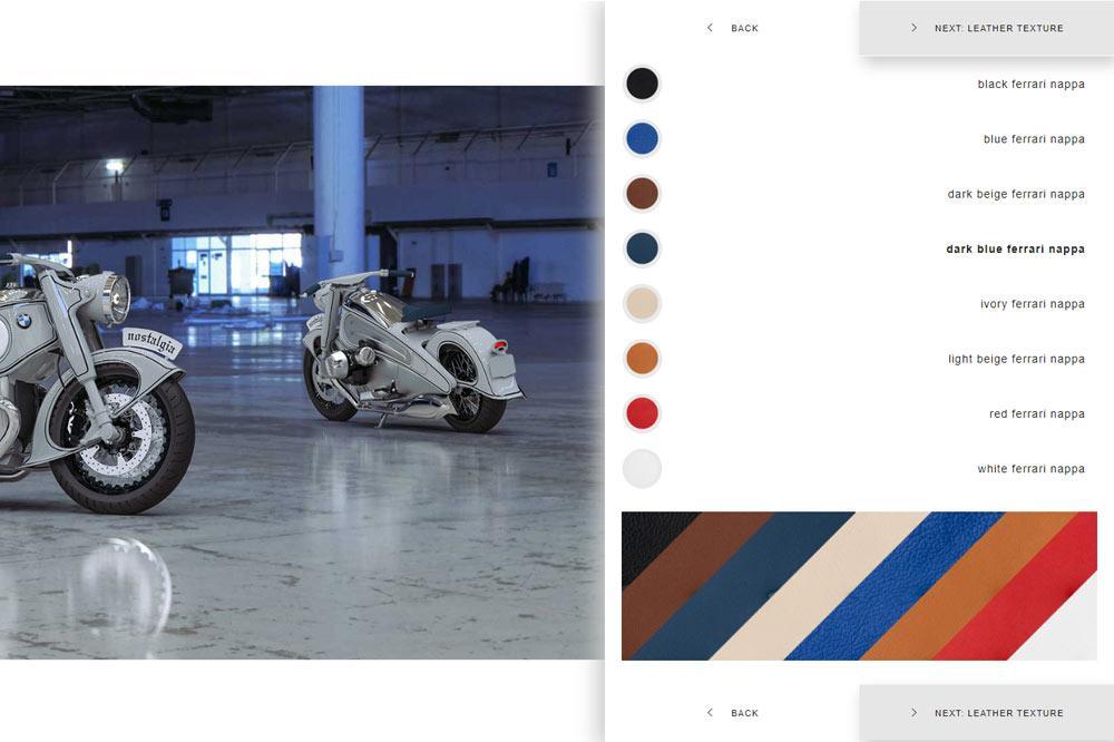 NMOTO Nostalgia BMW R7 Konfigurator