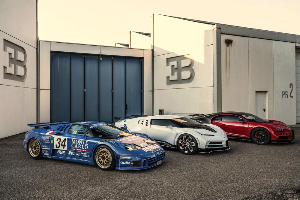 110 Jahre Bugatti
