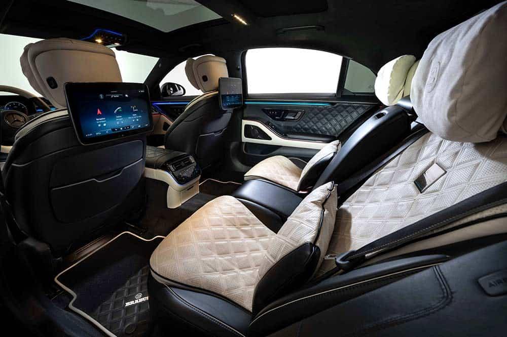 Viel Luxus auch im Innenraum der BRABUS S-Klasse