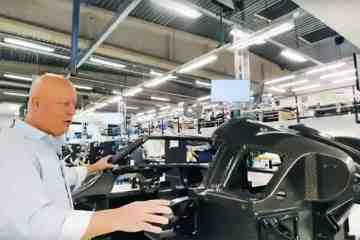 Koenigsegg Regera Produktion