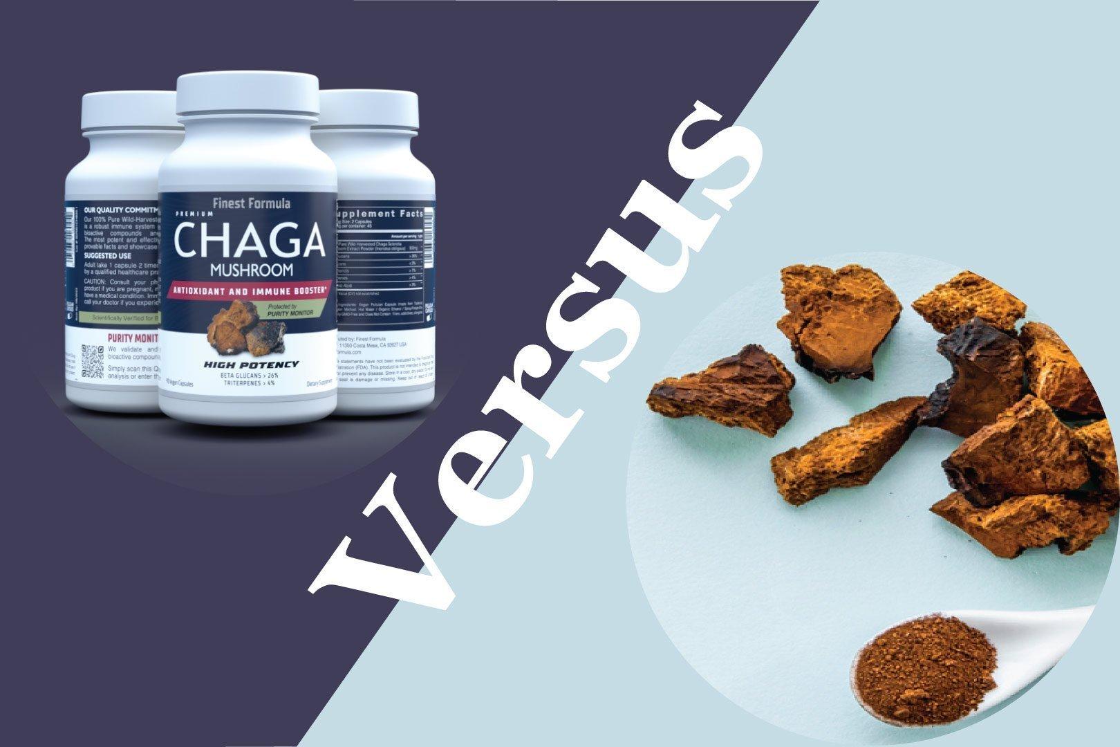 chaga-extract-vs-raw-powder
