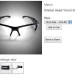 オービタルのメガネ