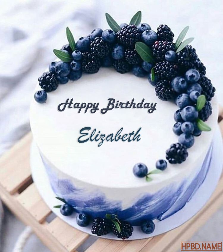 Happy Blueberry Birthday Cakes With Name Editor 5 July 2021