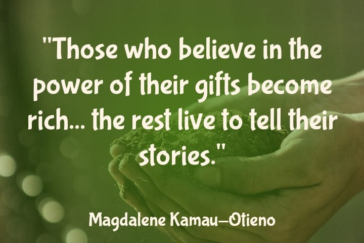 believe in your gift quote