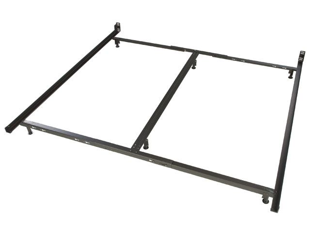 Low Profile King Size Metal Bed Frame