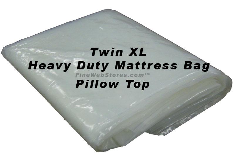Twin XL Heavy Duty Plastic Mattress Bag