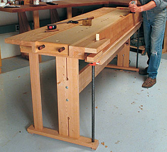 Fine Woodworking Bench Plans