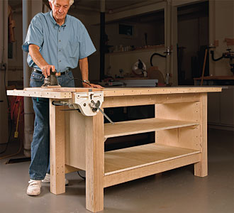 build woodworking bench