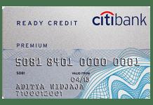 Citibank-ready credit