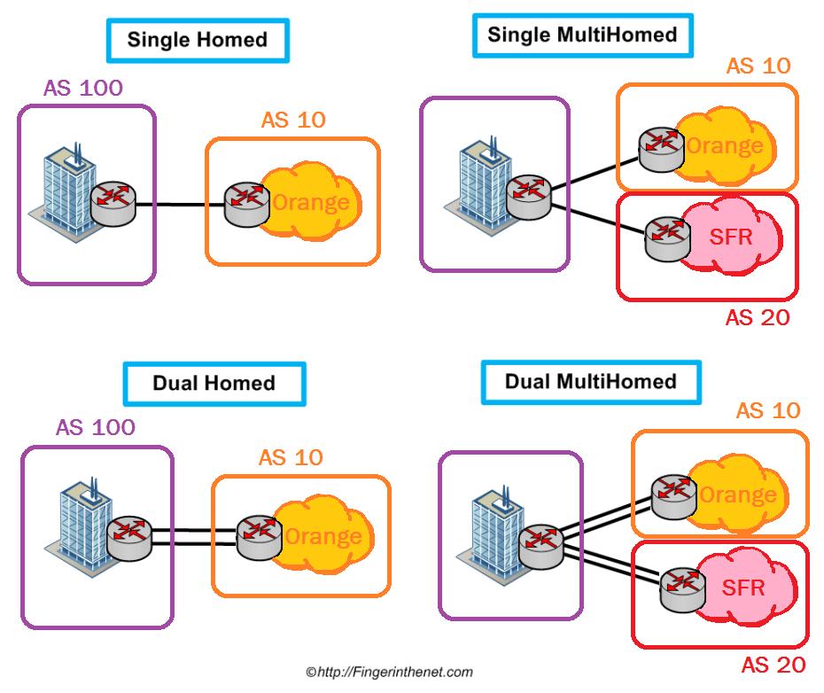 Type of BGP link