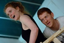 The Snow Queen Rehearsals - Alice Fernbank and Robin Guiver