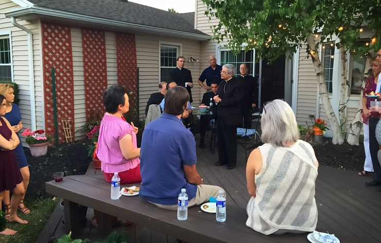 Bishop Matano addresses guild members