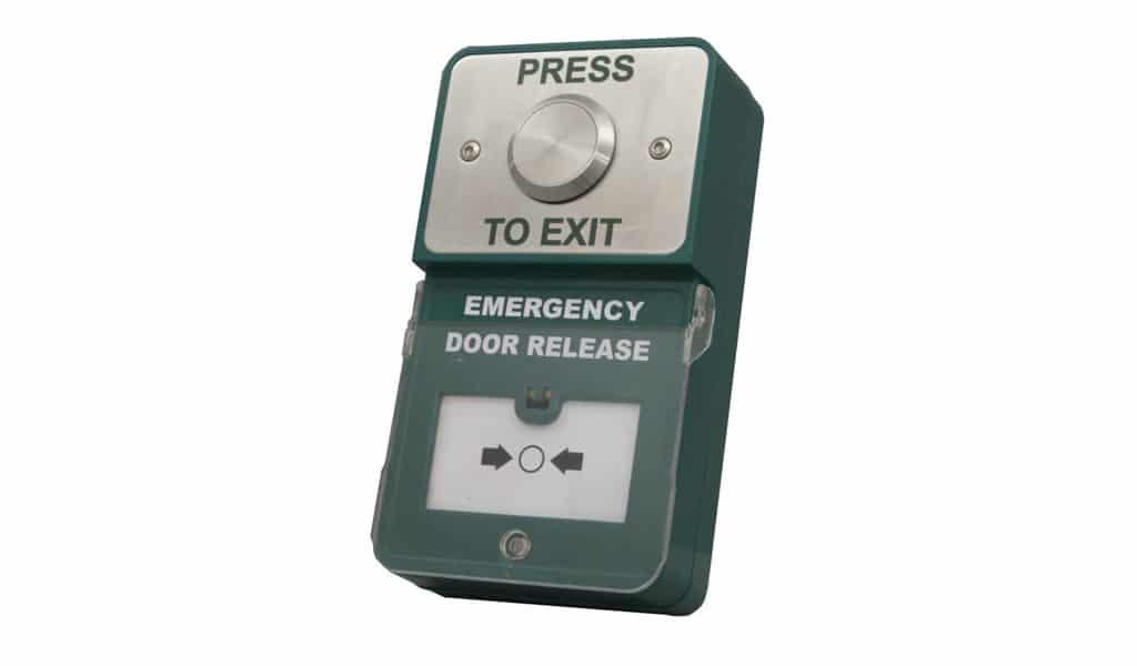 Dual Unit Press to Exit and Emergency Release