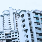 access control condominium flats residential complex