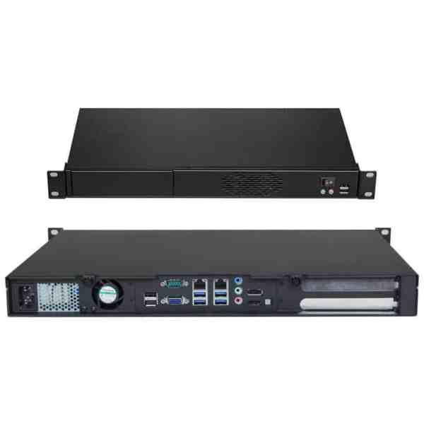1U rack mount pc network controller
