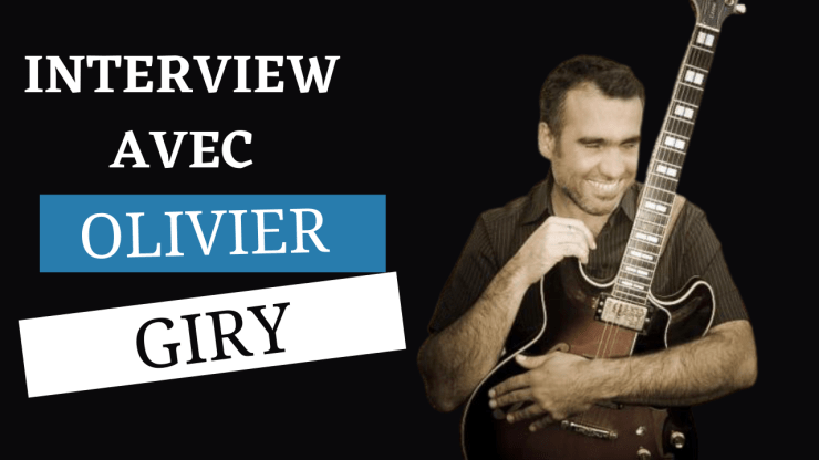 Olivier Giry guitare