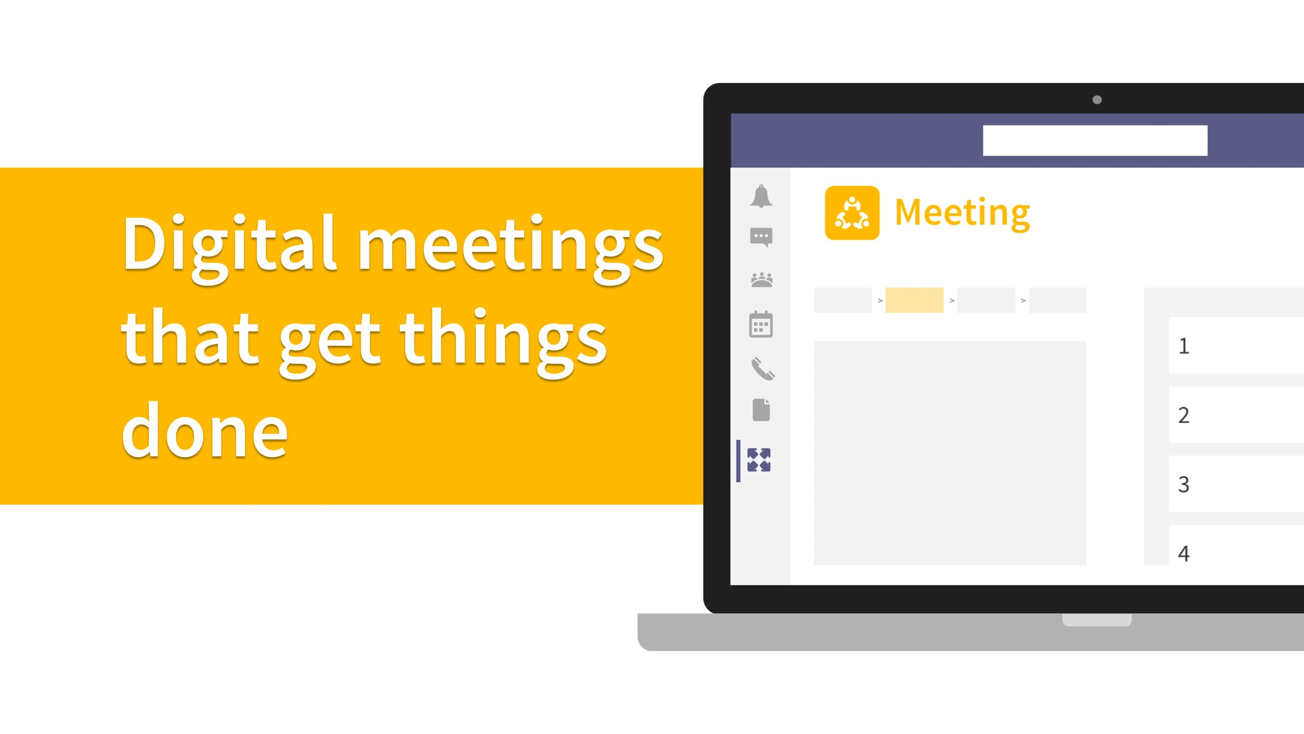 digital meetings that get things done