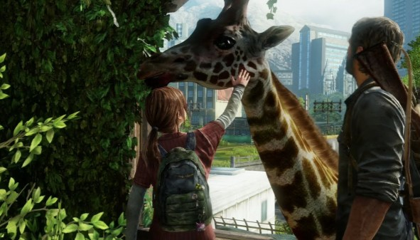 last of us giraffe