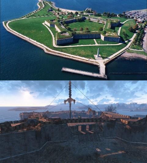 fallout 4 castle