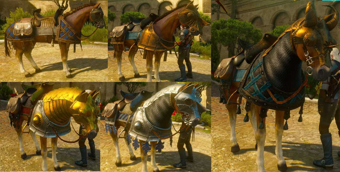 witcher blood wine horse gear