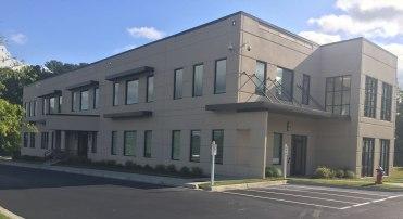 South University. exterior texture coating