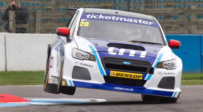 BTCC Subaru triumph at Rockingham