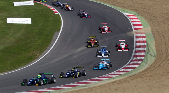 BRDC F3 Brands Hatch- 10th Win Of The Season For Ahmed