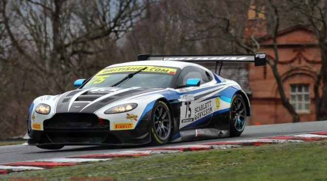 British GT Oulton Park qualifying Flick Haigh makes pole & history