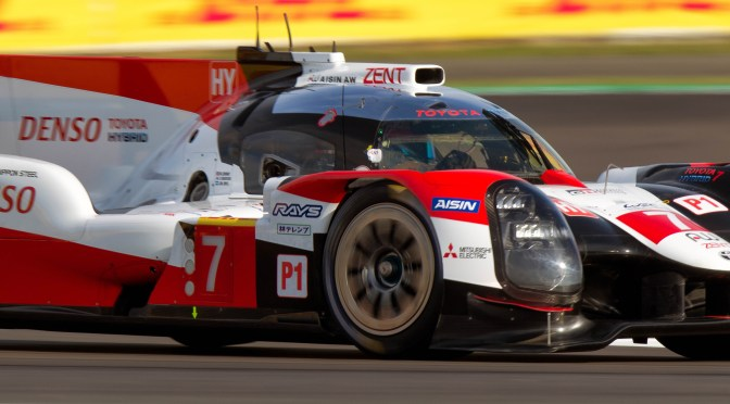 WEC 4hrs of Silverstone Toyota #7 on pole