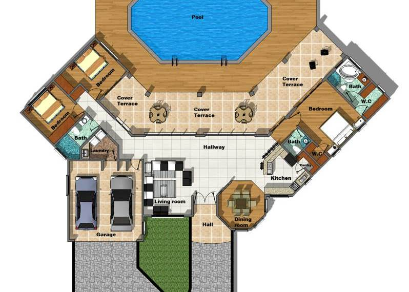 Casa Alita Floor Plan