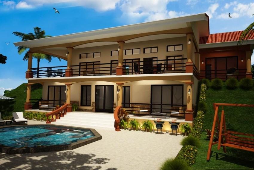 Casa Meroniux tropical home