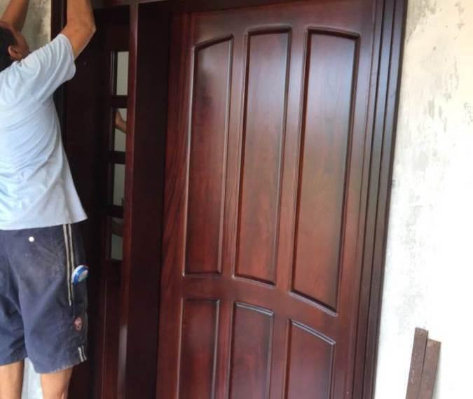 Custom Home Design Front Door