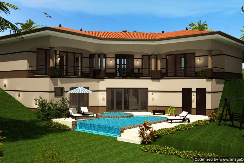 Sloped Home Design Costa Rica